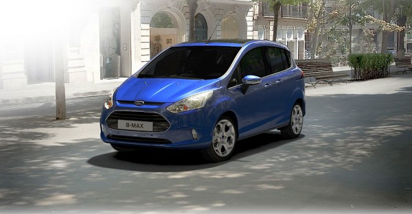 Ford B-MAX Nautical Blue