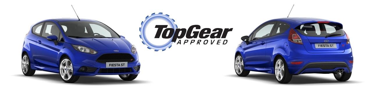 Ford Fiesta ST élue voiture de l'année par Top Gear