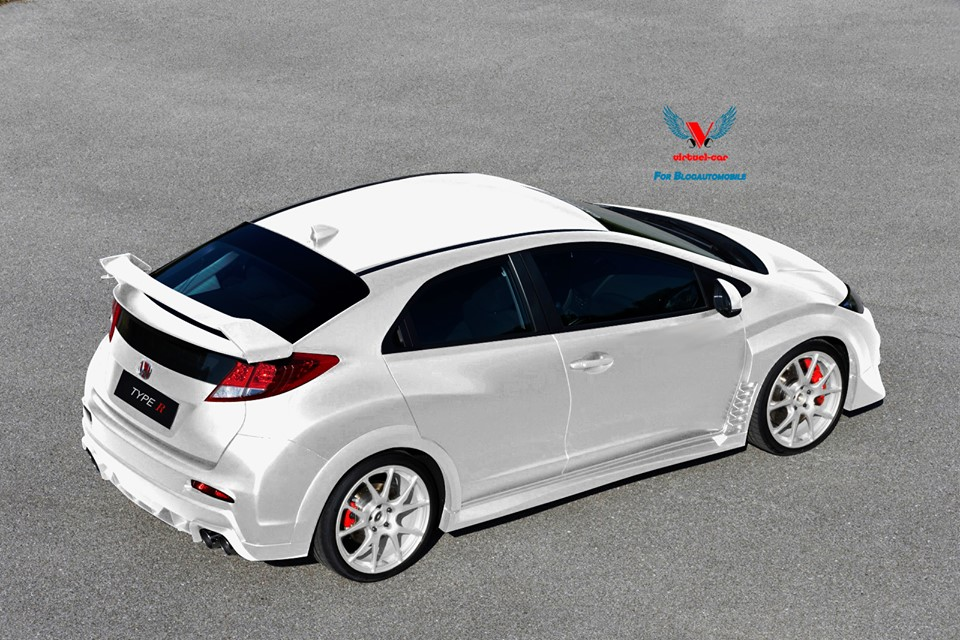 honda civic voici la type r 2015 blog automobile. Black Bedroom Furniture Sets. Home Design Ideas