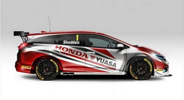 Honda Civic Wagon BTCC 2014