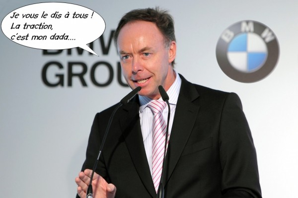 Ian-Robertson directeur des ventes et du marketing de BMW Group