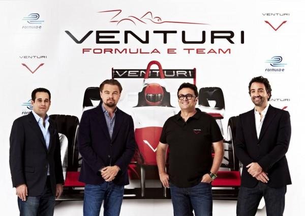 Leonardo Di Caprio et Venturi en Formula E.1