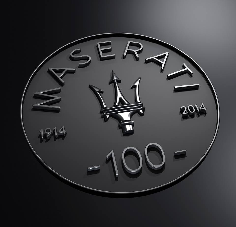 Maserati fête ses cent ans en 2014