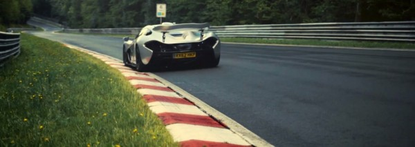 McLaren  P1 lapping the Nürburgring Nordschleif