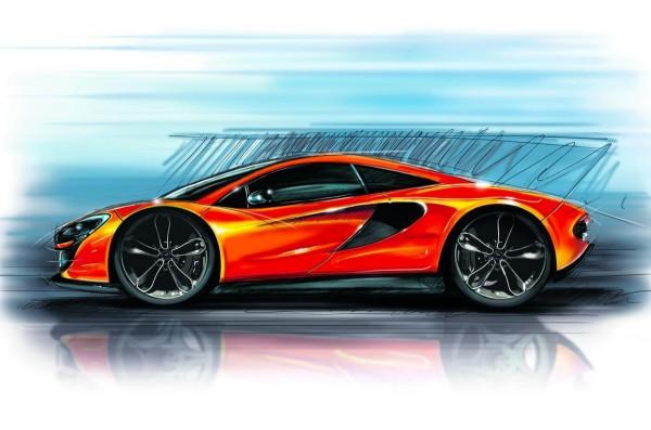McLaren P13 sketch