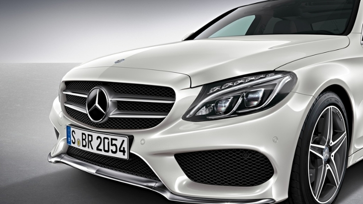 Mercedes Classe C Pack AMG 2014 : Premières images - Blog