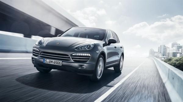 Porsche Cayenne Platinum Edition.0