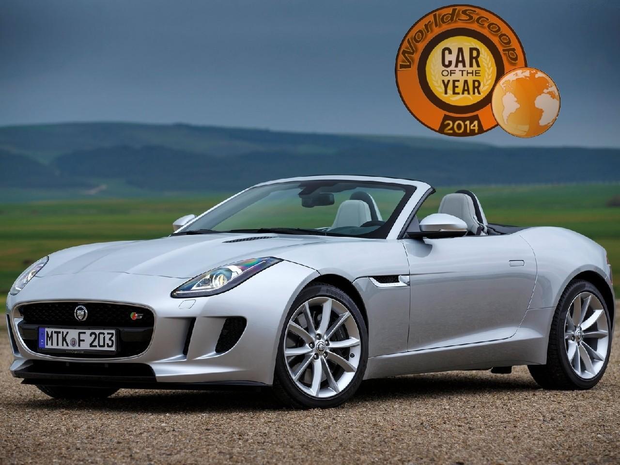 jaguar voiture de l'année 2014 worldscoop