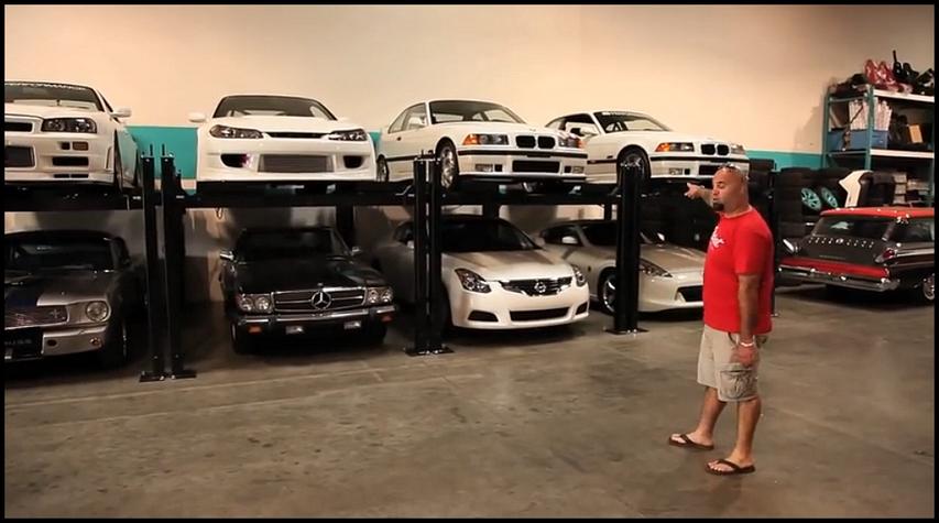 Paul walker la visite de son garage en guise d 39 hommage for Garage donnay guise
