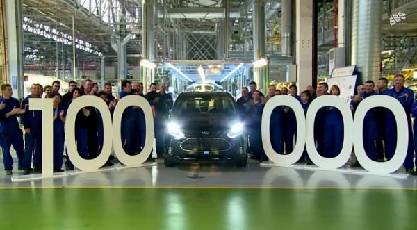 100.000 Ford B-Max à Craiova.0