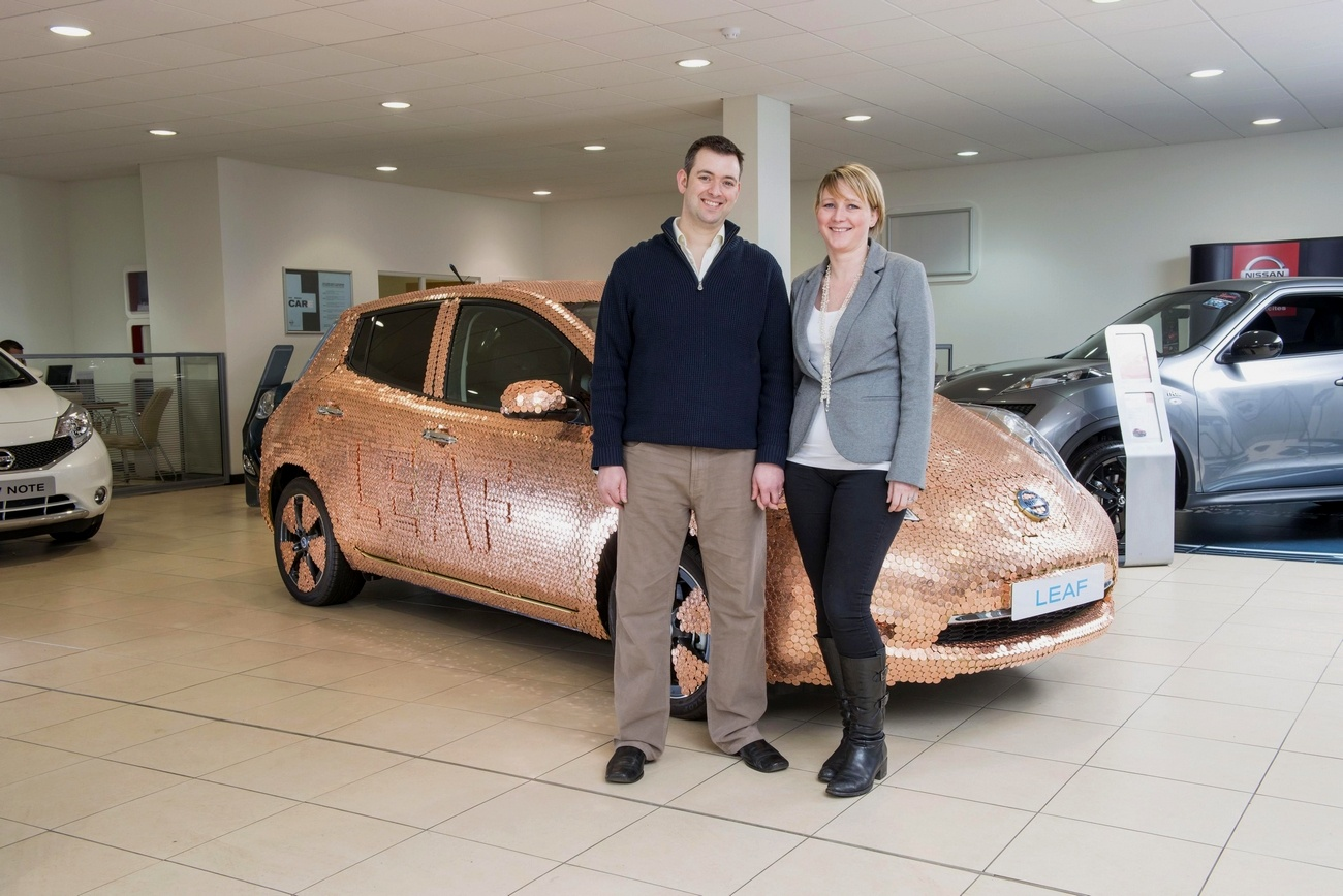 100000 Nissan Leaf