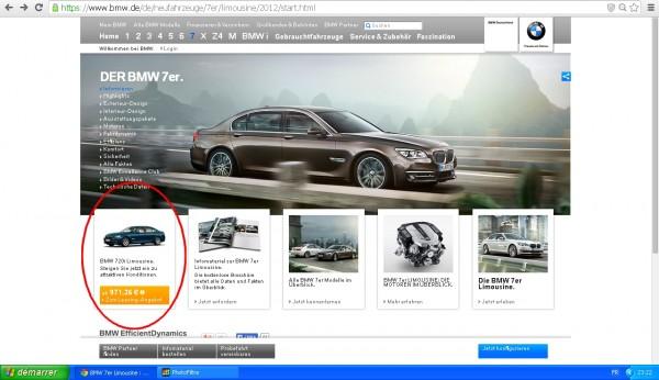 BMW Serie 7 - 720i