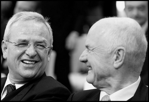Ferdinand Piech et Martin Winterkorn