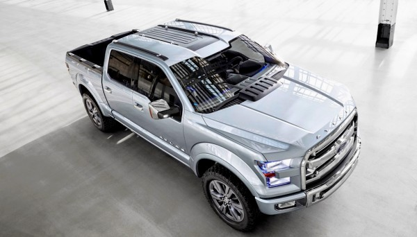 Ford F150 Atlas Concept NAIAS 2013