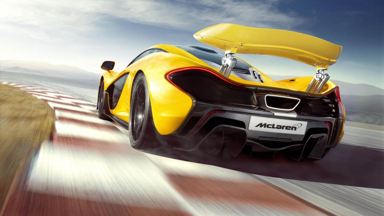 McLaren P1 In Action