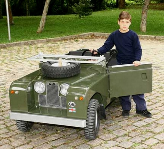 Mini Land Rover Landy