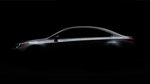 Subaru Legacy 2015 teaser