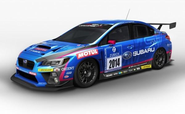 Subaru WRX STI 24H du Ring 2014