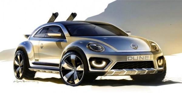 VW Beetle Dune Concept 2014