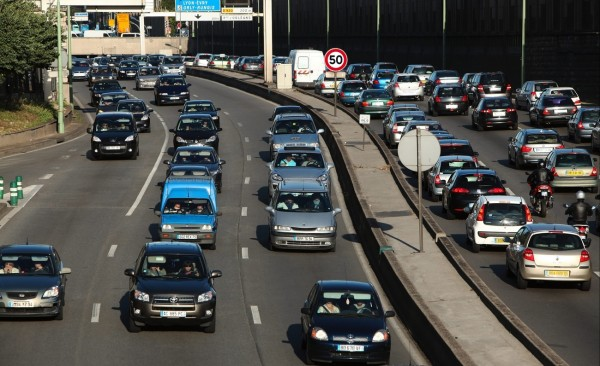 périphérique parisien 50 km-h