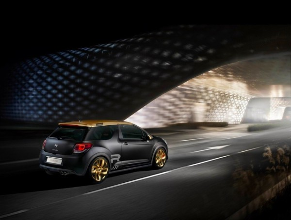 Citroen DS3 Racing MatGold.0