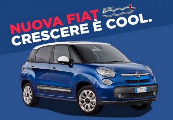 Fiat 500L Blu Venezia