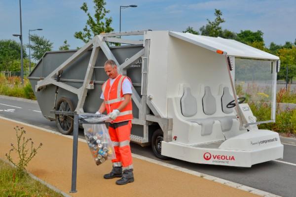 MDI Veolia camion poubelle