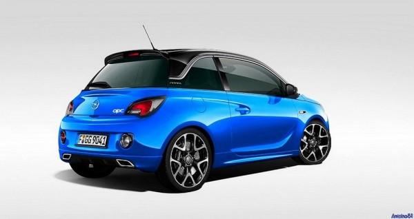 Opel-Adam-OPC par Antoine 51 pour Blogautomobile
