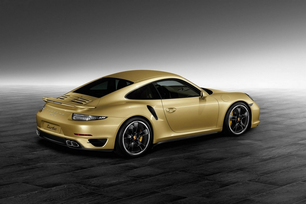 Porsche Une 911 Turbo Gold Par Porsche Exclusive Blog