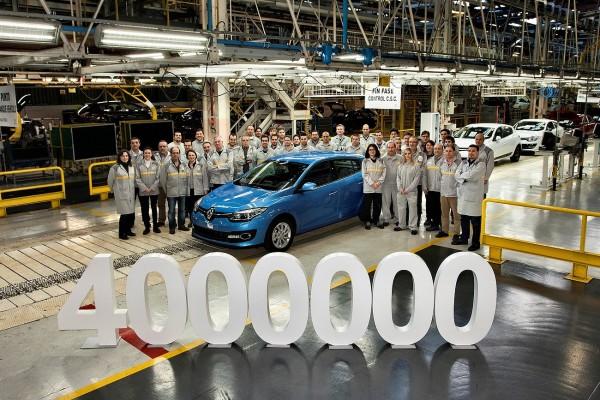 Renault - 4 millions de Mégane à Palencia en Espagne