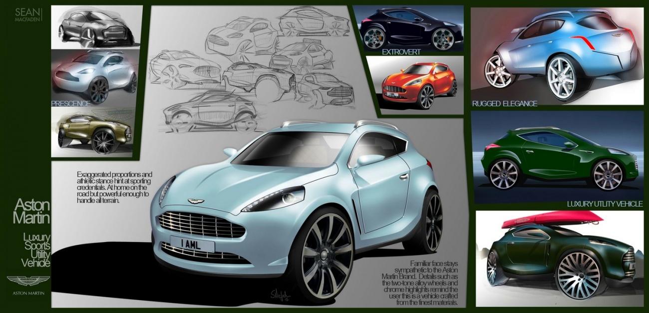SUV Aston Martin Par Sean McFaden