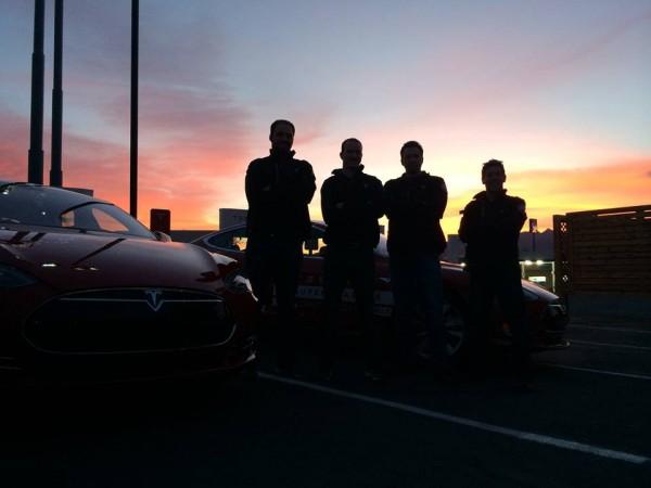 Tesla Model S Coast to coast.0
