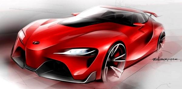 Toyota FT-1 - elle préfigure la future Supra ,