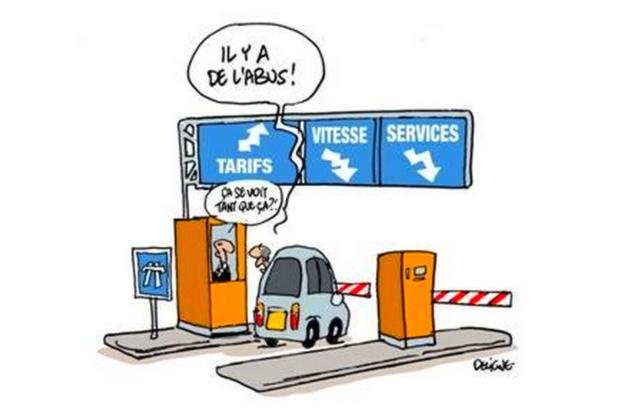 augmentation du prix des péages d'autoroutes ce 1er février 2014