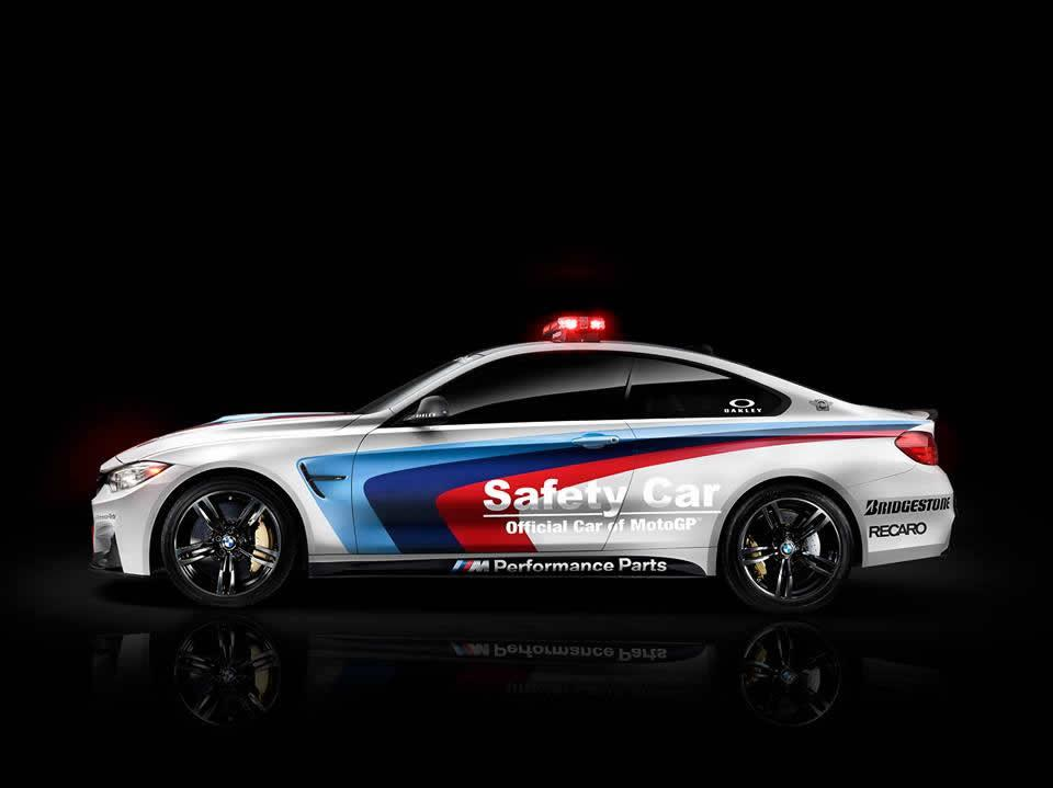 BMW M4 Safety car Moto GP