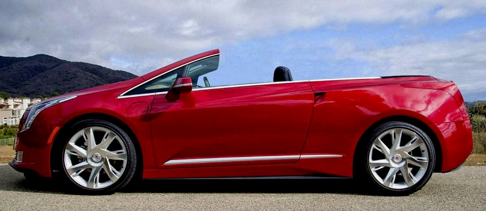 Cadillac ELR convertible par NCE