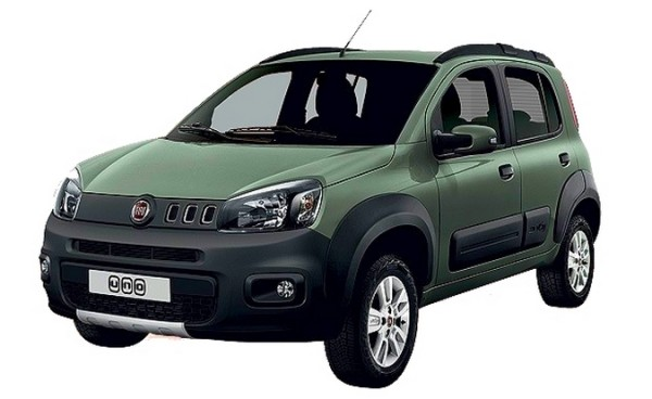 Fiat Uno restylée.3
