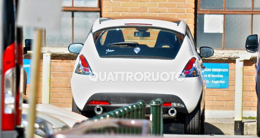 Lancia Ypsilon HF spyshot