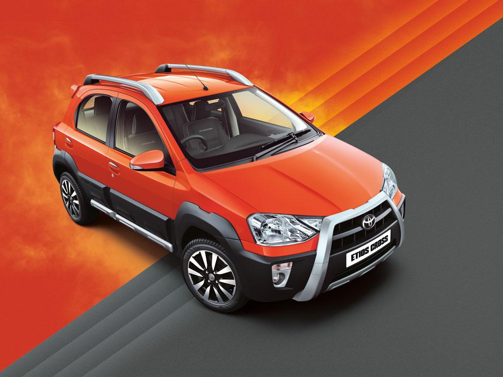 Toyota Etios Cross en Inde