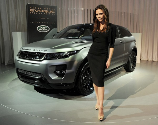 Victoria Beckham et Land Rover