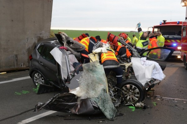 accident de voiture par L'Union - L'Ardennais