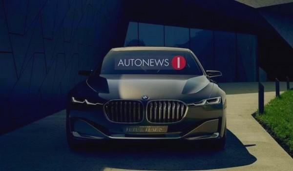 BMW Vision Future Luxury Concept - Beijing 2014.1