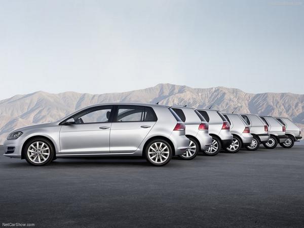 Quarante ans de Volkswagen Golf !
