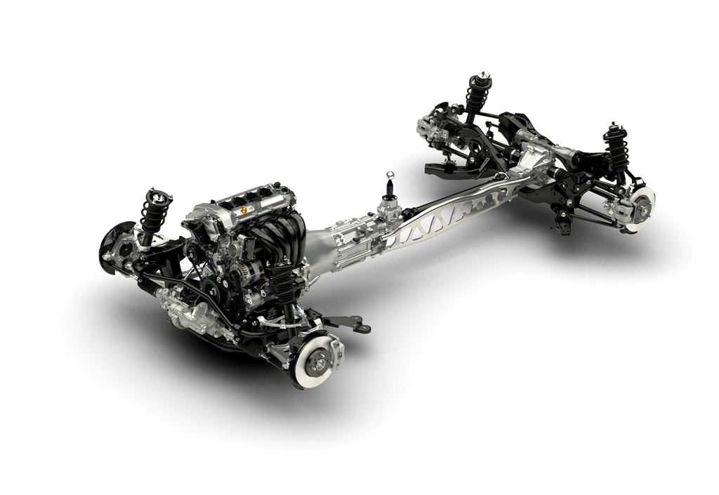 Mazda MX-5 2016 le chassis