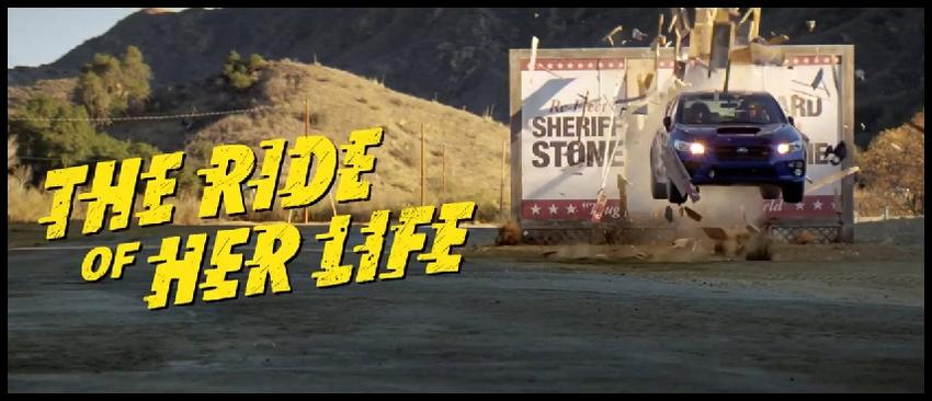 The ride of her life subaru