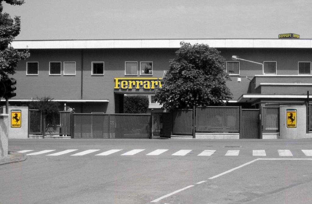 Usine Ferrari Maranello