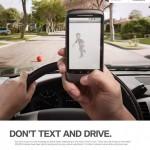 pas de SMS en conduisant