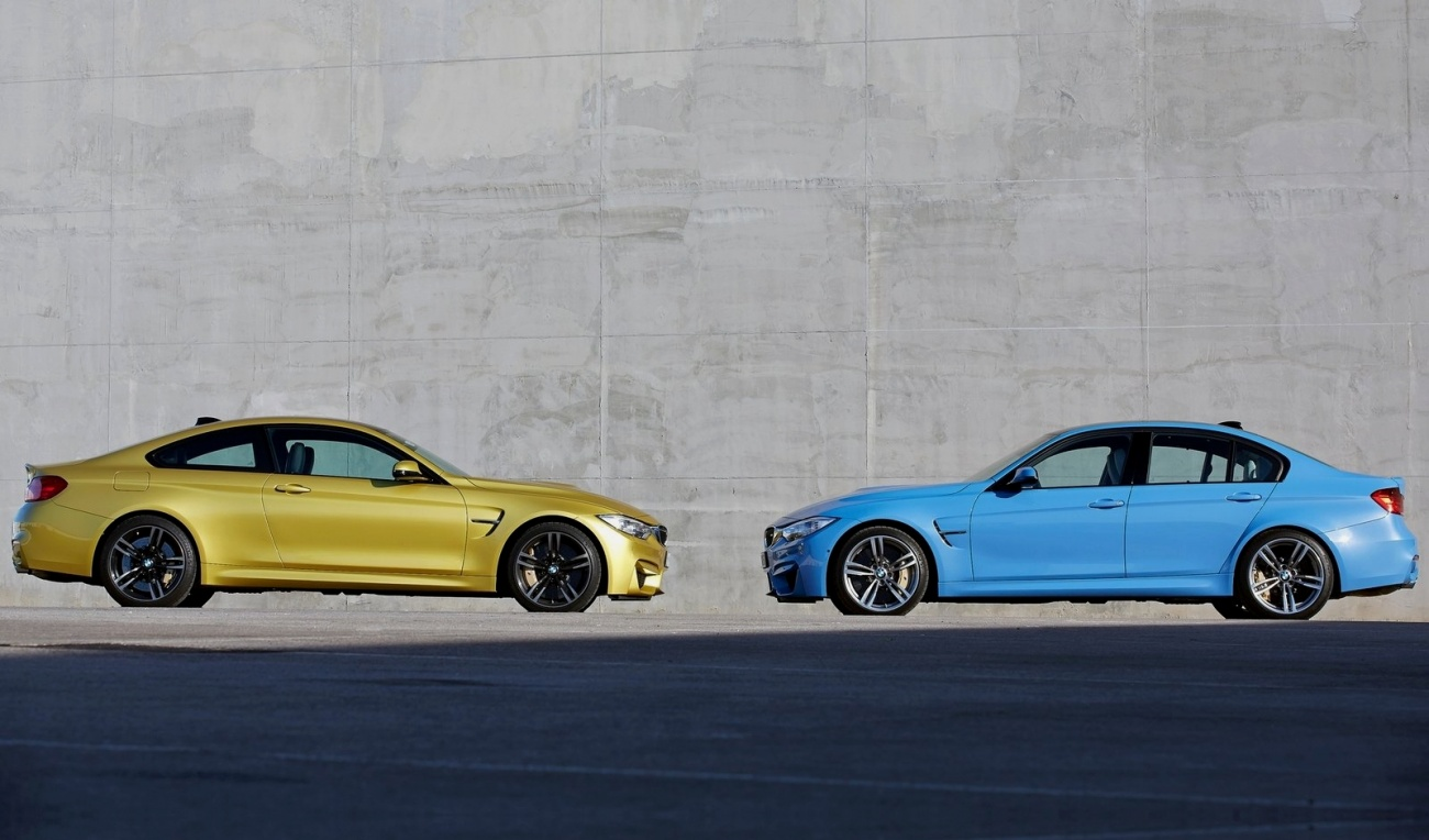 BMW M3 Sedan & M4 Coupé 2014