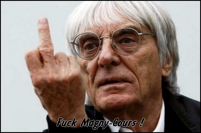 Bernie Ecclestone dit non au GP de Formule 1 en France