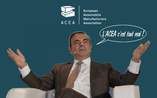 Carlos-Ghosn à la tête de l'ACEA